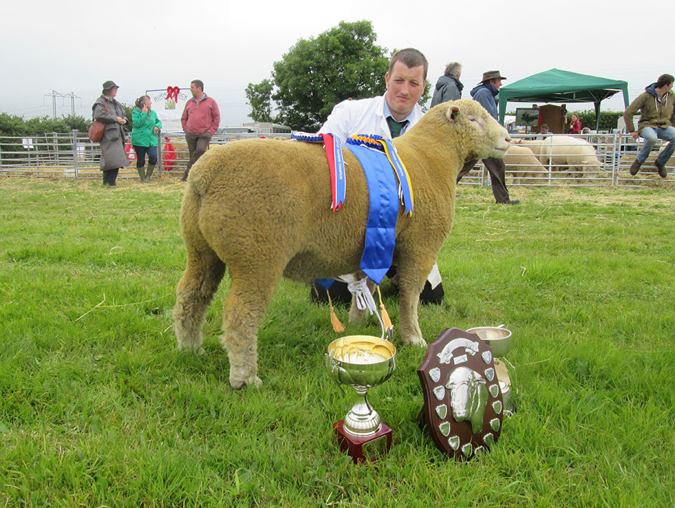 Adam Care with Breed Champion