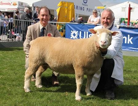 Trevor Knox with Champion & Judge, David Rossiter